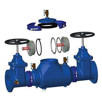Mifab Double Check Backflow Preventer